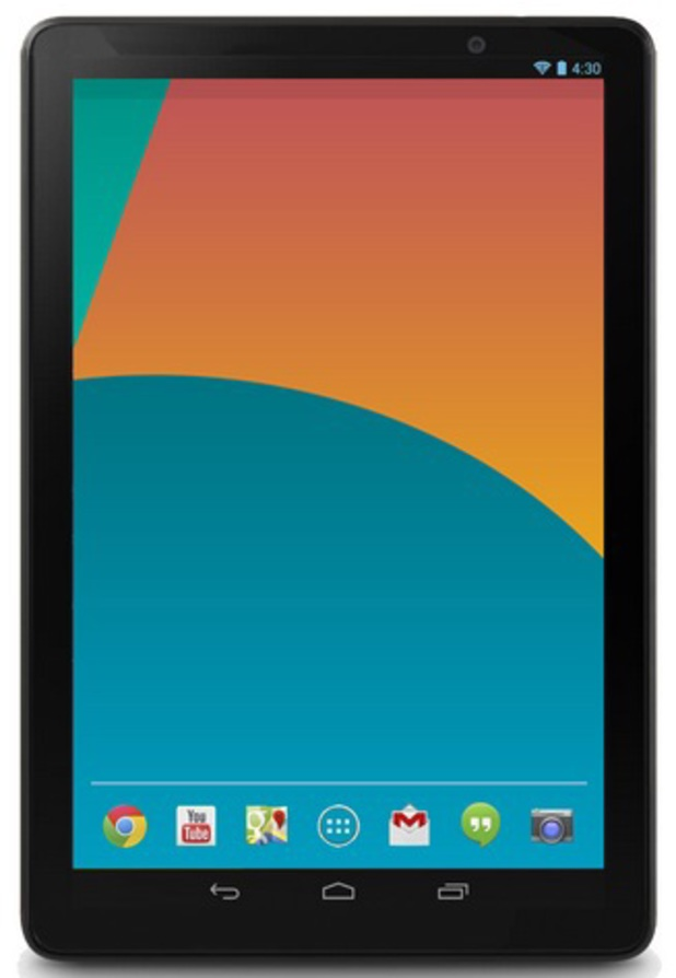 Alleged image of the Google Nexus 10