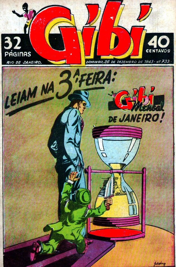'O Gibi' comic cover