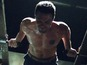 Gay Spy: Arrow star in shirtless workout
