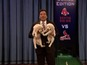 Jimmy Fallon's puppies decide the football