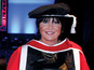 Sandie Shaw collects honorary doctorate