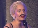 The singer is in Berlin to launch her new album ARTPOP.