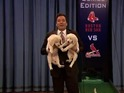 Jimmy Fallon predicts which team will win at the NFL Super Bowl XLVIII