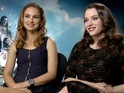 Portman and Kat Dennings discuss Marvel sequel Thor: The Dark World with DS.