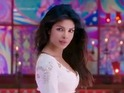 Chopra portrays a dancing girl in the item song 'Ram Chahe Leela'.