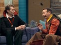 Comedy Bang Bang's spooky celebration is previewed in newly released clip.