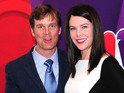"Peter Krause reveals that he hid real-life romance for close to ""a year""."
