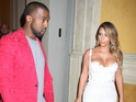 Kanye also discusses skepticism about his and Kim Kardashian's romance.