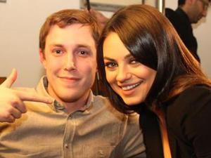 Chris Stark meets Mila Kunis