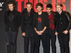 One Direction attend a screening of their film 'This is us' in Japan.
