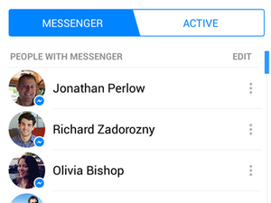 Facebook Messenger - new screenshot