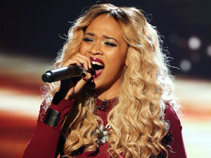 Tamera performs in the sing off