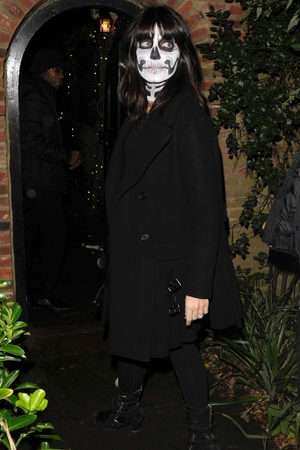Jonathan Ross Halloween Party 2013 Claudia Winkleman