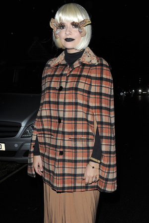 Holly Willoughby Jonathan Ross Halloween party 2013