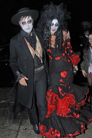 Kate Moss, Jamie Hince Jonathan Ross Halloween party 2013
