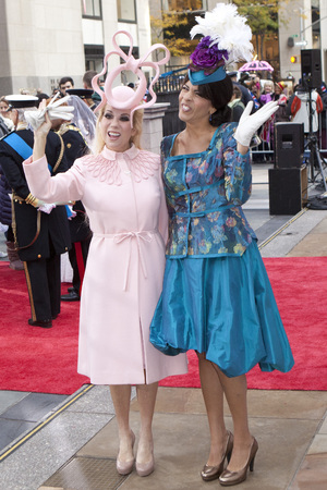 Kathie Lee Gifford and Hoda Kotb as Princess Eugenie and Beatrice