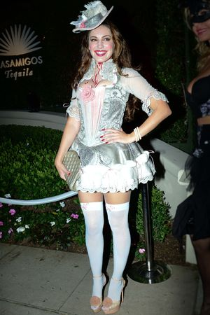 Casamigos Halloween party, Los Angeles, America - 25 Oct 2013 Kelly Brook 25 Oct 2013
