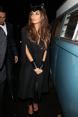 Nicole Scherzinger Jonathan Ross Halloween party 2013