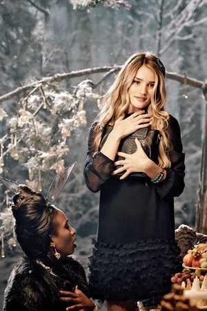Rosie Huntington-Whiteley appearing in the Marks & Spencer Christmas campaign