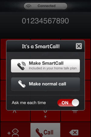 Virgin Media SmartCall on iPhone
