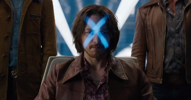 James McAvoy in 'X-Men: Days of Future Past'