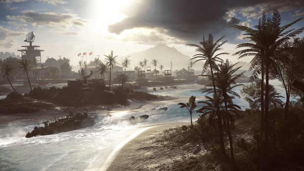 The Paracel Storm multiplayer map