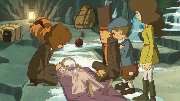 'Professor Layton and the Azran Legacy' screenshot