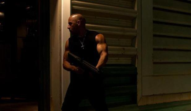 Vin Diesel in new 'Fast & Furious 7' picture