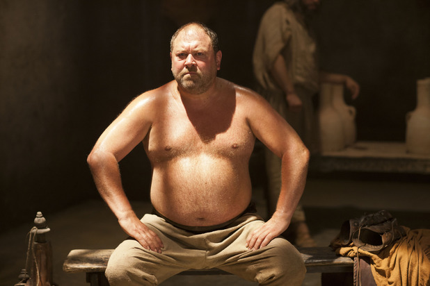 Hercules (Mark Addy) in Atlantis episode 6