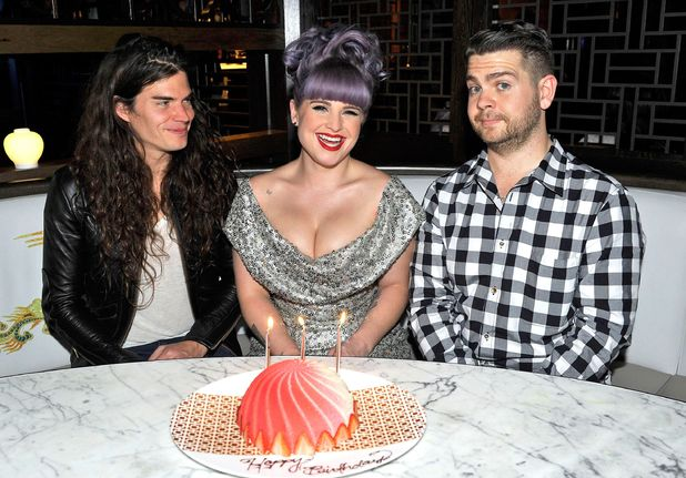 Kelly Osbourne celebrates her 29th birthday, Hakassan, Los Angeles, America - 26 Oct 2013Matthew Mosshart, Kelly Osbourne and Jack Osbourne