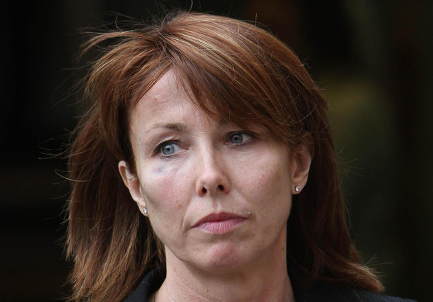 Kay Burley Sky News presenter Kay Burley outside Uxbridge Magistrate Court where Naomi Campbell appeared to face charges of assaulting two police officers at Heathrow Airport. 2008