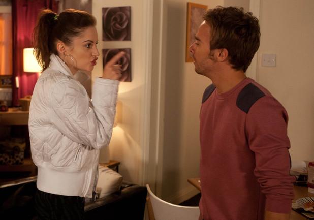 Kylie is enraged to find David has taken Max to Tina's flat.
