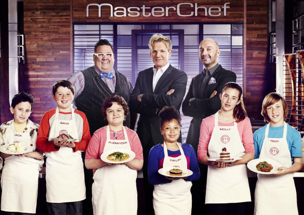 The 'Masterchef Junior' chefs and juges
