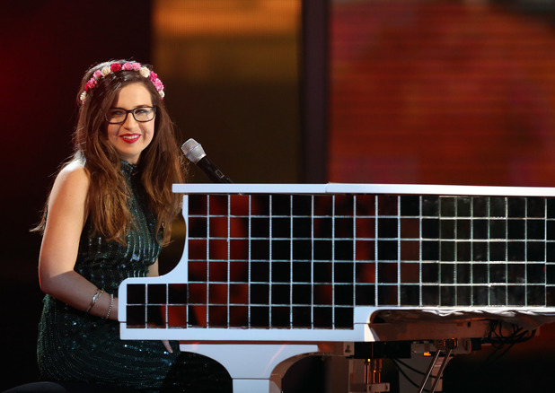 Abi Alton on 'The X Factor' Disco Week