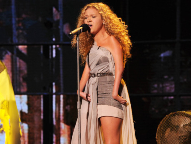 Rion Paige performs on The X Factor USA first live show