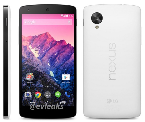 Google Nexus 5 leaked photograph