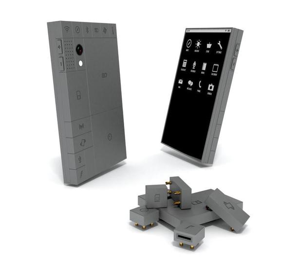 Phonebloks modulated smartphone