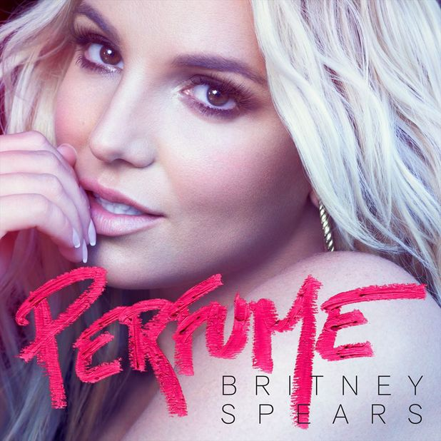 Britney Spears 'Perfume' single cover