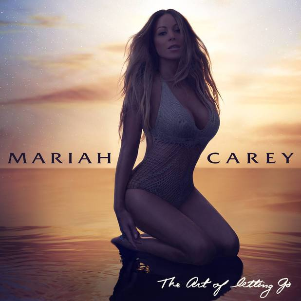 Mariah Carey 'The Art Of Letting Go' single artwork.