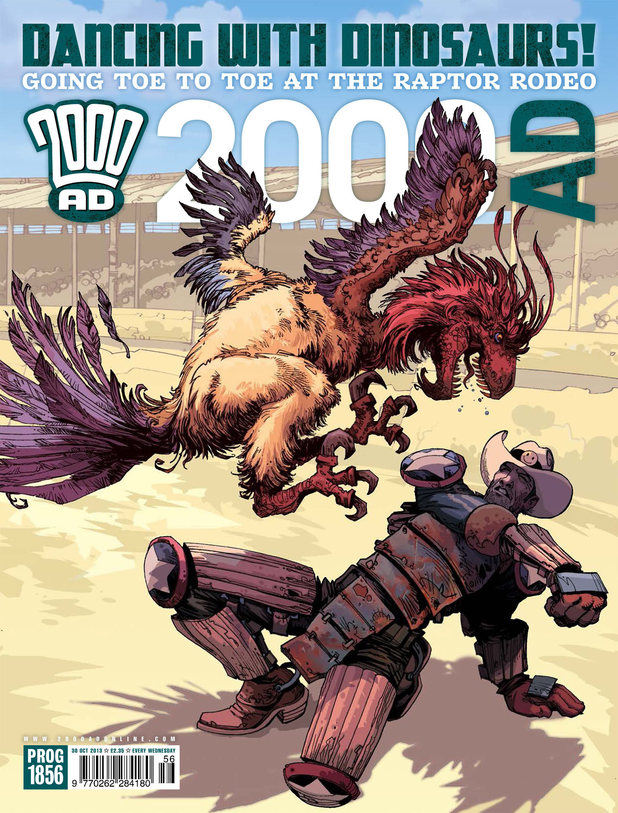 '2000 AD' Prog 1856 cover