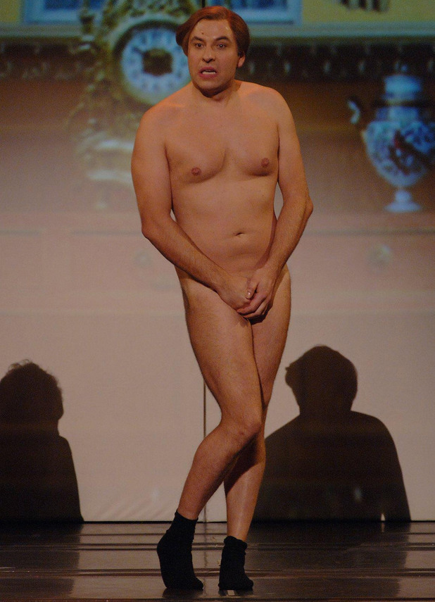 David Walliams in the Little Britain stage show