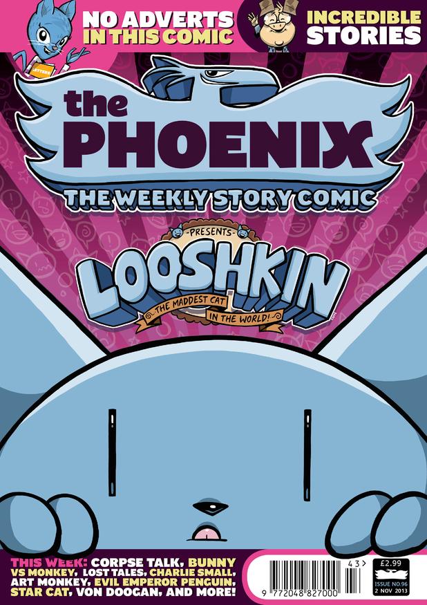 'The Phoenix' #96 cover