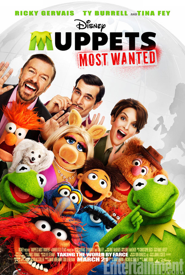 'Muppets Most Wanted' poster