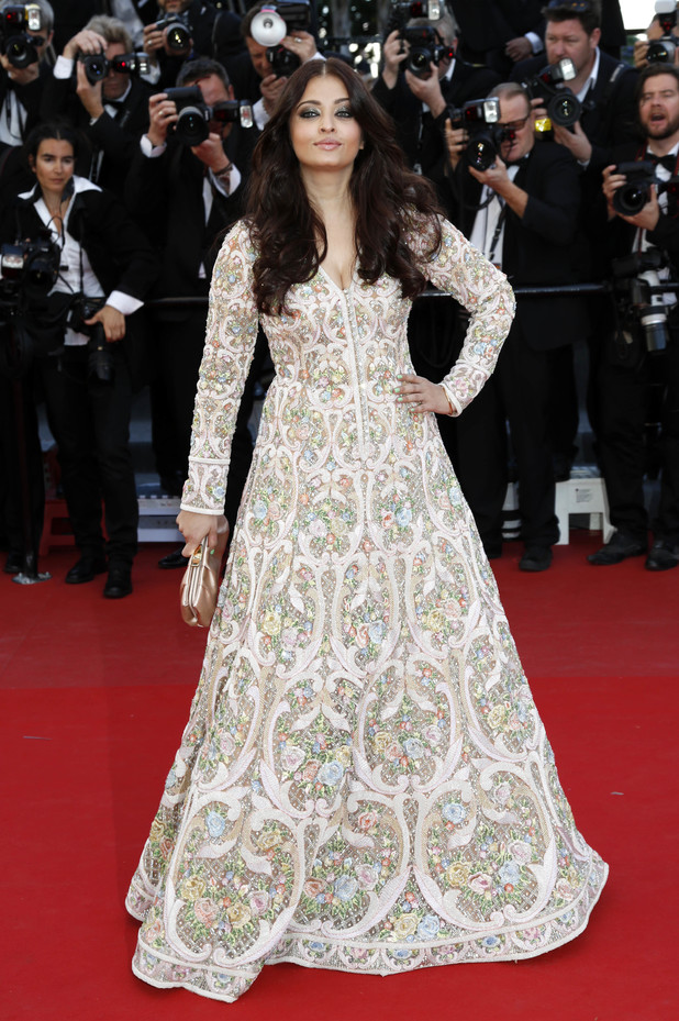 Aishwarya Rai Bachchan at the Blood Ties premiere at the 66th annual Cannes Film Festival