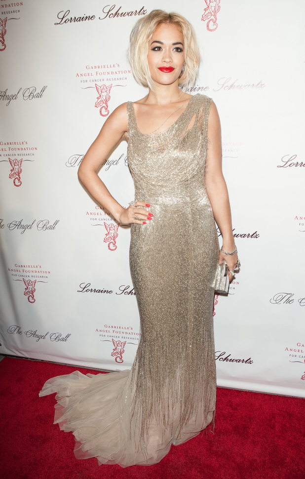 Rita Ora The Angel Ball, New York, America - 29 Oct 2013