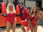 "Matt Lauer says he wore a ""testicle vice"" for Baywatch-themed Halloween costume."