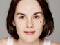 Michelle Dockery goes make-up free