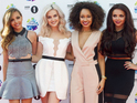 The girl group perform the mash-up in Radio 1's Live Lounge.