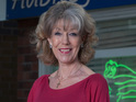 Sue Nicholls has a soft spot for her on-screen grandson.