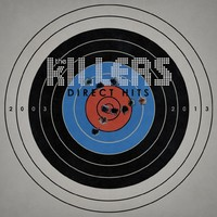 The Killers 'Direct Hits' album art.